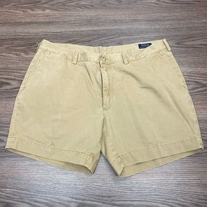 Polo Ralph Lauren Khaki Tan Chubbies Shorts 40